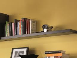 modern wall mounted floating shelf