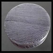 structured metal perforated plate corrugated ng mellapak ng