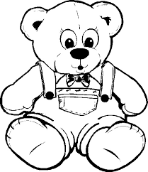 Small Picture Best Teddy Bear Coloring Page 29 About Remodel Coloring Print with