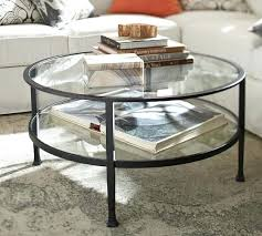 round glass silver coffee table trunk uk