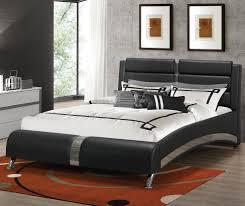 Coaster Furniture Q Black Queen Bed