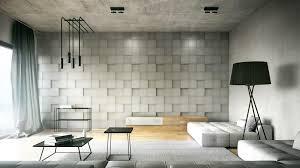 rubik geometric 3d wall panel industrial living space