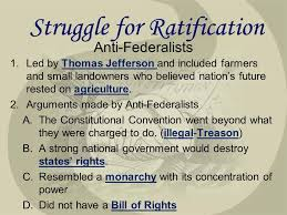 george mason anti federalists federalists the federalist papers  4 anti federalists