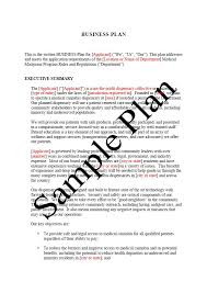 example of a business plan printable sample business plan sample form forms and template