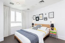 Bold Black And White Bedrooms With Bright Pops Of Color Photo Details -  From these gallerie