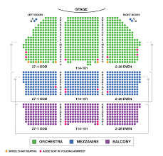 Imperial Theatre Nyc Seating Chart Best Seats Theatre Online Charts Collection