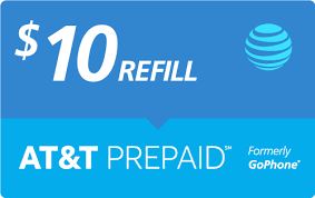 9 99 at t prepaid real time refill minutes