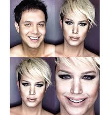 this guy can turn himself into any celebrity by using makeup photos ariana and