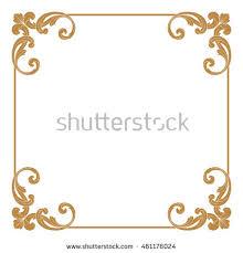 frame design vector. Beautiful Design Premium Gold Vintage Baroque Ornament Frame Border Borders Vector  Vintage Frame With Design Vector