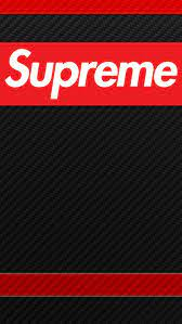 Iphone 8 Black Supreme Wallpaper