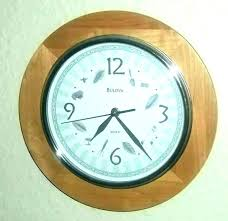 bulova wooden wall clock pendulum clocks vision chiming repair value wiki ll wood