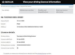 Check Licence Driver Linx Details Cirencester Solutions Insurance Dvla