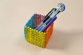 Pandahall Tutorial on How to Make a Colored Homemade Beaded Pen Holder