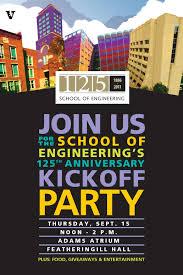 School Poster Designs Vanderbilt Engineering School Posters Digital Marketing Graphic