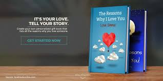 Design Your Own Book Lovebook Create Your Own Book Format Love Messages Online
