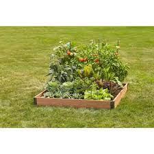 plastic composite raised garden bed