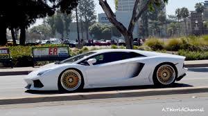 lamborghini aventador black and gold. lamborghini aventador on gold hre rims u0026 sound youtube black and t