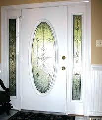 front door stained glass inserts leaded glass door inserts front door oval glass inserts terrific front
