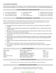 Hr Resume Format Resume Human Resources Executive Human Reso Rs