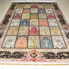 Mingxin 6x9 feet four seasons geometry carpet turkish design for