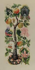 SOPHIE PORTER From Garden and Orchard VINTAGE LITHOGRAPH Botanical #341 |  eBay