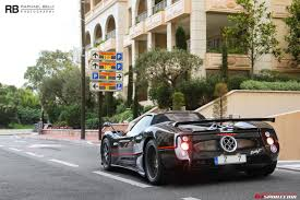 Pagani Zonda F Roadster Clubsport Spotted in Monaco - GTspirit