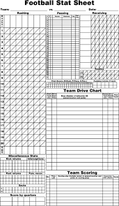 Download Football Score Sheet For Free Formtemplate