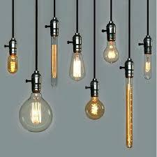 edison bulb pendant lighting lights glamorous pendants bare light fixture decorative diy