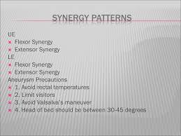 Flexor Synergy Pattern Cool Inspiration Ideas