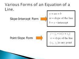 point slope formula 2 slope intercept form point slope form find point slope form given two
