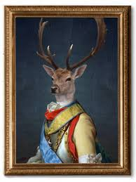 general stag canvas art