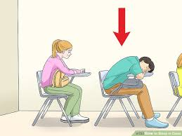 image titled sleep in class step 8