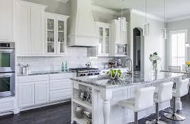 white shaker kitchen cabinets grey floor. Grey Granite Countertops | Kitchens White Cabinets, Wood Floors Cabinets With Great Shaker Kitchen Floor R
