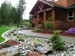 Front Yard Garden Designs Beauteous Interior Stone Landscaping Ideas Stone Landscaping Ideas For Front
