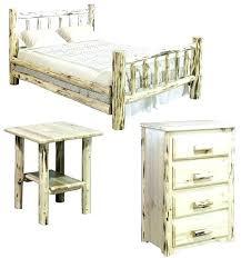 Montana Bedroom Set 5 Piece Platform Queen Size Bedroom Set Home ...