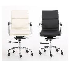 office chair eames. PU Leather Office Computer Chair Charles Eames Style Recline Hight Tilt Adjust