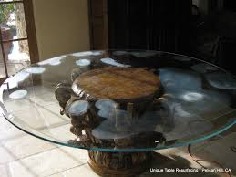 glass restoration glass table