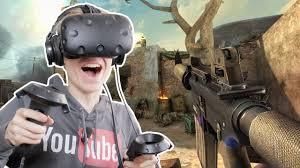 htc vive virtual reality video gaming system. overkill vr (htc vive gameplay) - youtube htc virtual reality video gaming system