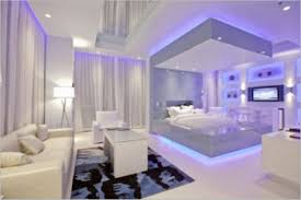 Bedroom:Grey And Purple Bedroom Design With Wooden Flower Also Sun Style  Along Beautiful Images