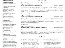 Superintendent Construction Resume Residential Construction Superintendent Resume Examples Samples
