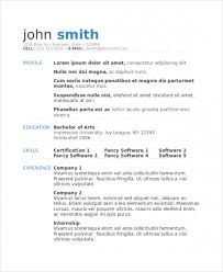 Model Resume Template Custom Free Download Sample Model Resume Template 28 Free Word Document