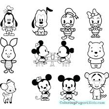 Disney Cuties Coloring Pages Free Printable Cuties Coloring Pages 5