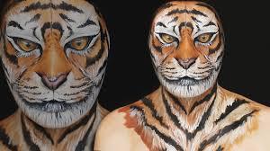 tiger makeup tutorial ilana k artist