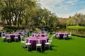 sawgr marriott outdoor wedding reception