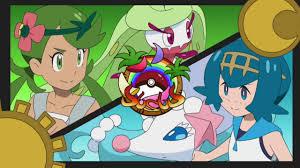 Lana vs Mallow Pokemon Sun and Moon Episode 130 English Dub - YouTube
