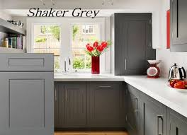 Rta Shaker Cabinets Awesome Grey Shaker Cabinets On Rta Kitchen