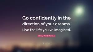 Thoreau Dream Quote
