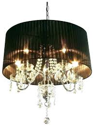surprising black shade crystal chandelier black shaded chandelier chandelier with black shades crystal drop chandelier with