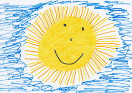 Resultado de imagen de dibujo sol