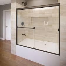 fullsize of chic basco w x h bronze frameless bathtub bathtub doors at glass bathtub doors canada